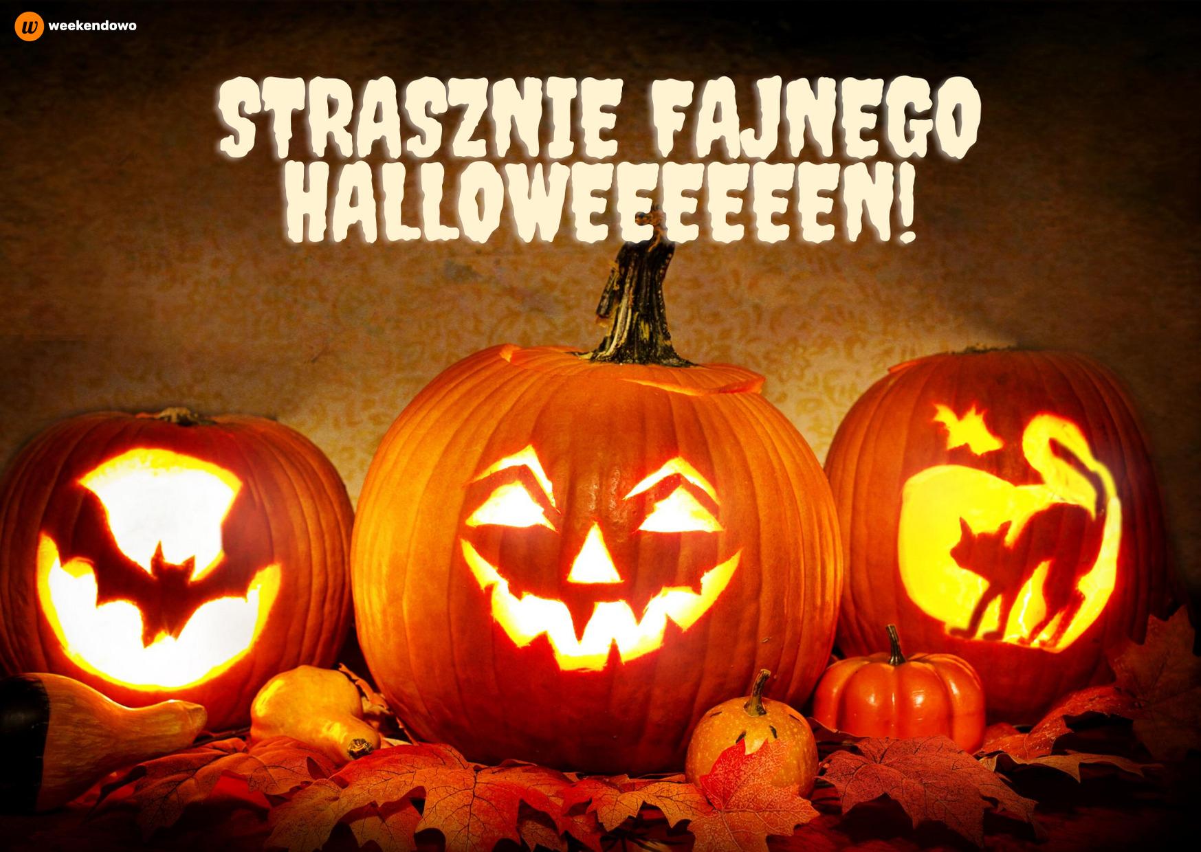 Halloweenowa kartka