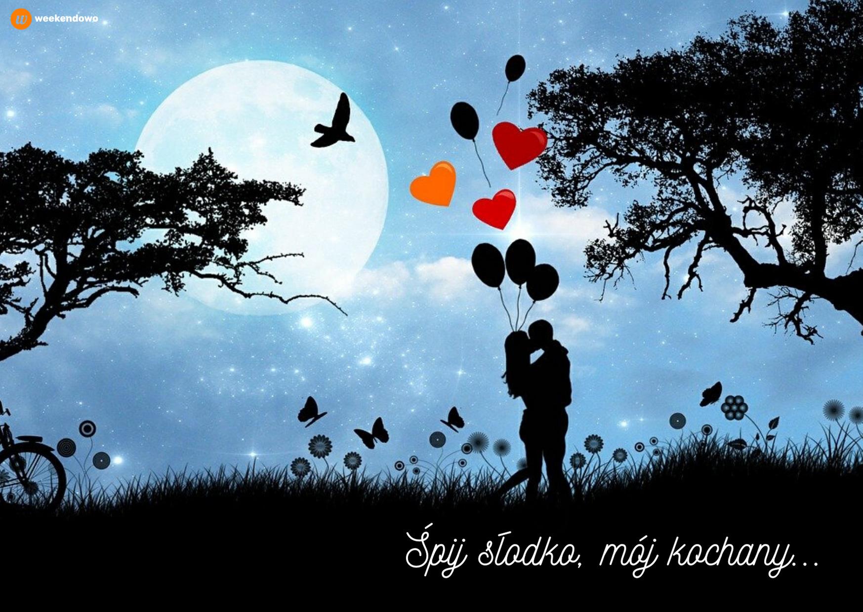 Miłosna kartka na dobranoc
