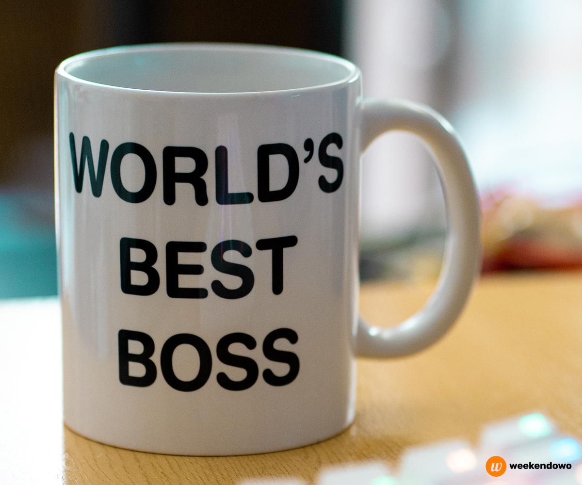 Najlepszy szef kartka