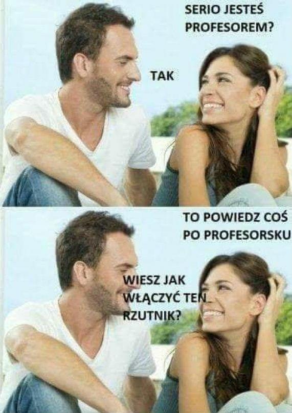 Typowy profesor