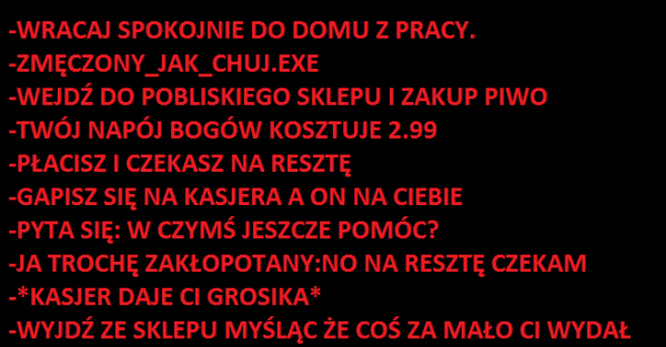 To uczucie :D
