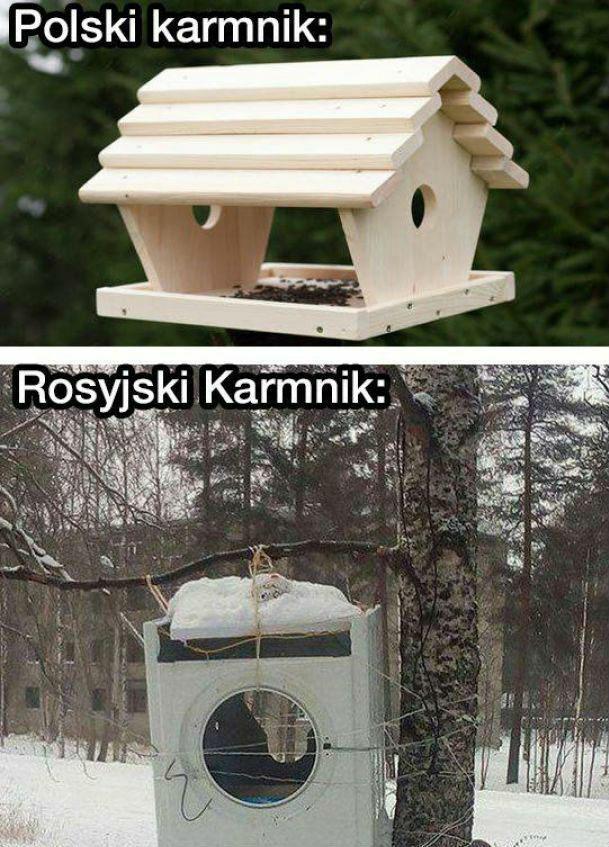 Epicki rosyjski karmnik :D