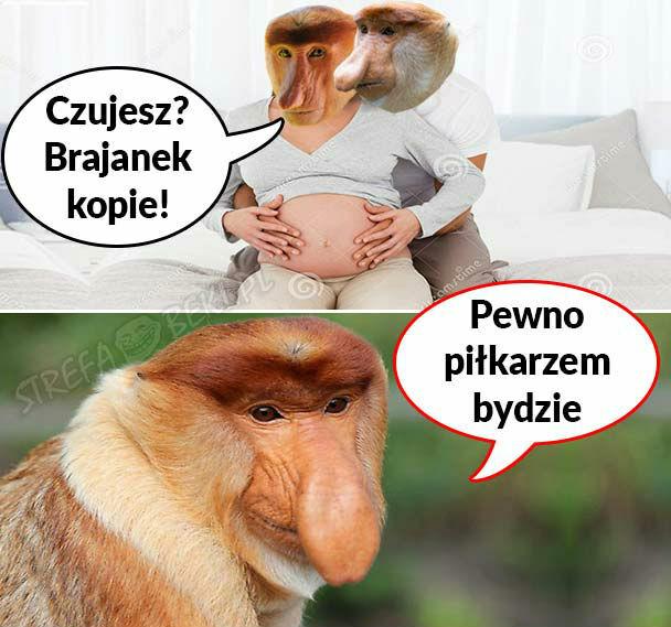 Kiedy Janusz i Halynka spodziewają się dziecka :D