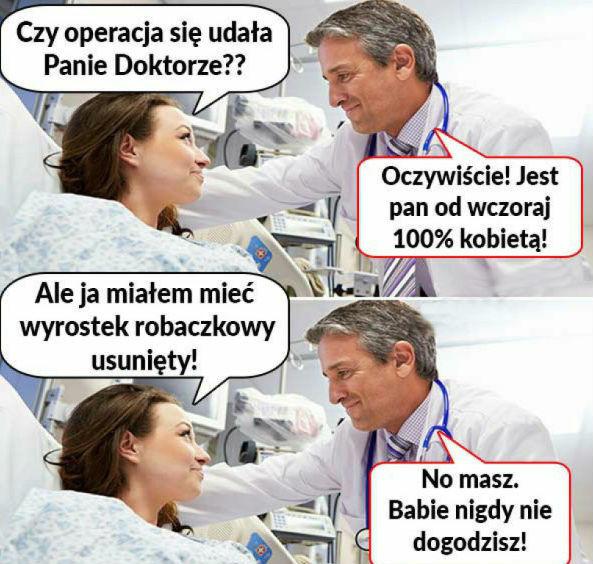 Rozmowa po operacji :D