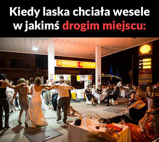 Najdroższe miejsce na wesele :D
