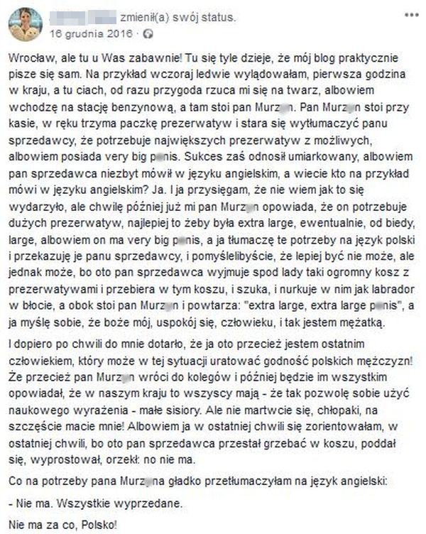 Laska uratowała honor Polaków :D