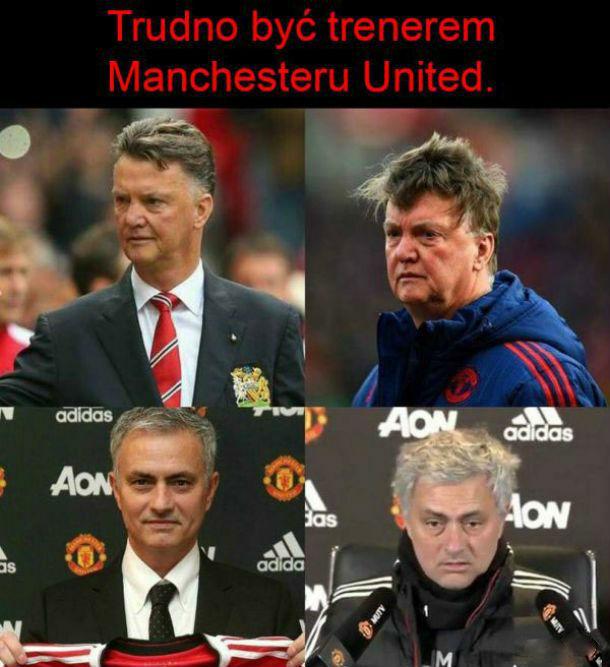 Ciężko jest być trenerem United