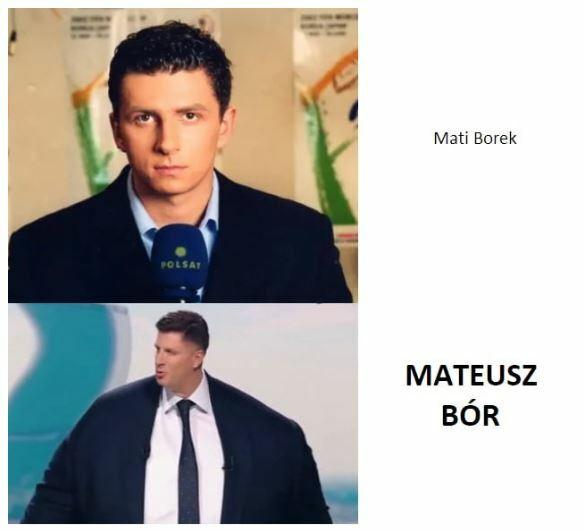 Ewolucja Mateusza Borka