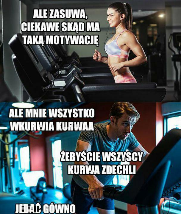 Motywacja na siłce :D