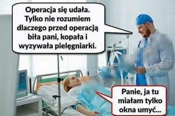 Udana operacja :D