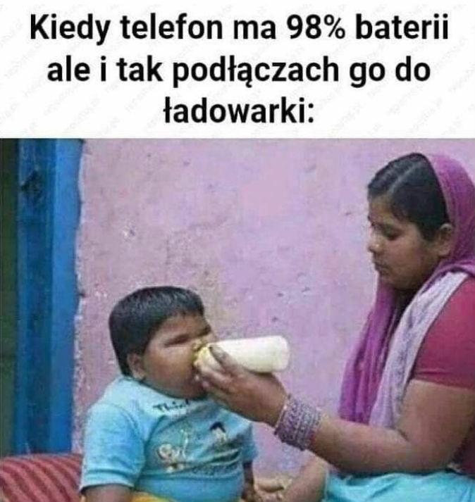 Ładowanie telefonu :D