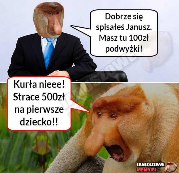 Podwyżka Janusza :D