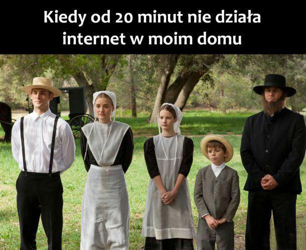 Brak internetu :D