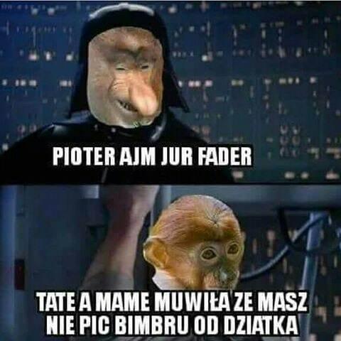Gwiezdne wojny: Janusz kontratakuje :D
