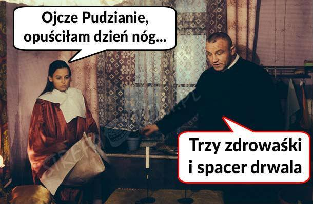 Pudzian radzi :D