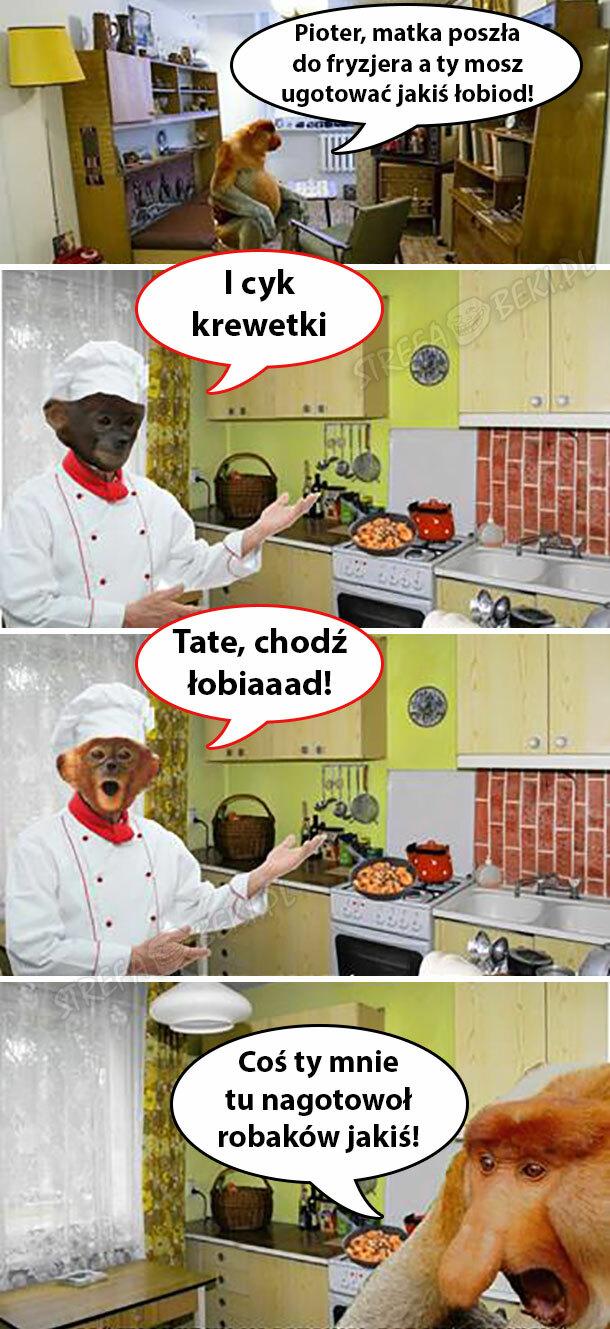 Obiad Pjotera :D