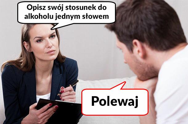 Stosunek do alkoholu