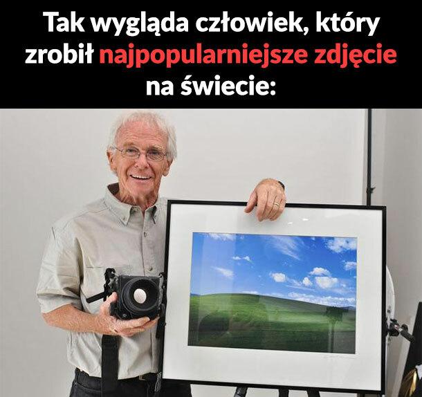 To on zrobił najpopularniejsze zdjęcie na świecie!