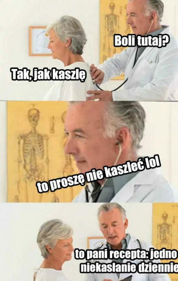 Typowa wizyta u lekarza :D