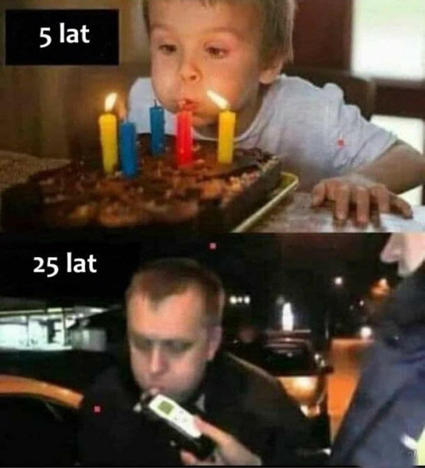 Dmuchanie na urodziny