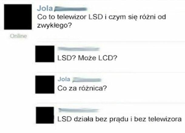 Telewizor LSD