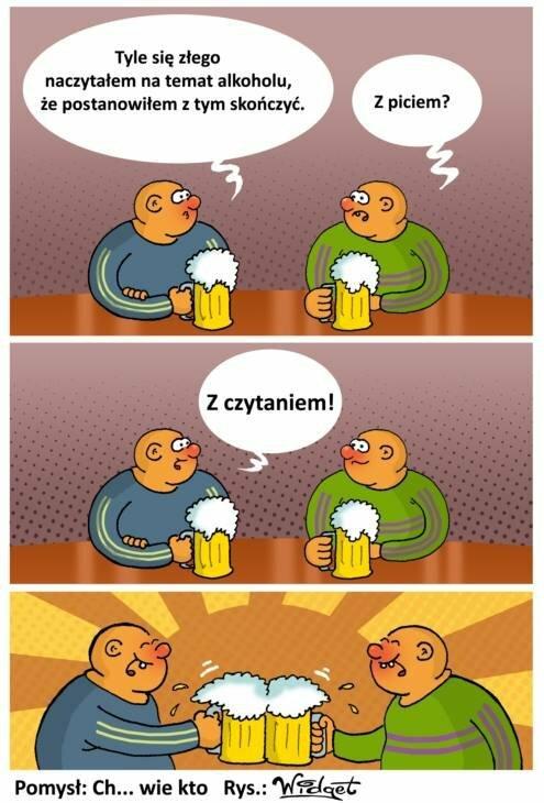 Alkohol to zło