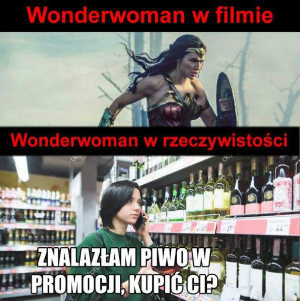 Wonderwoman na miarę naszych czasów :D