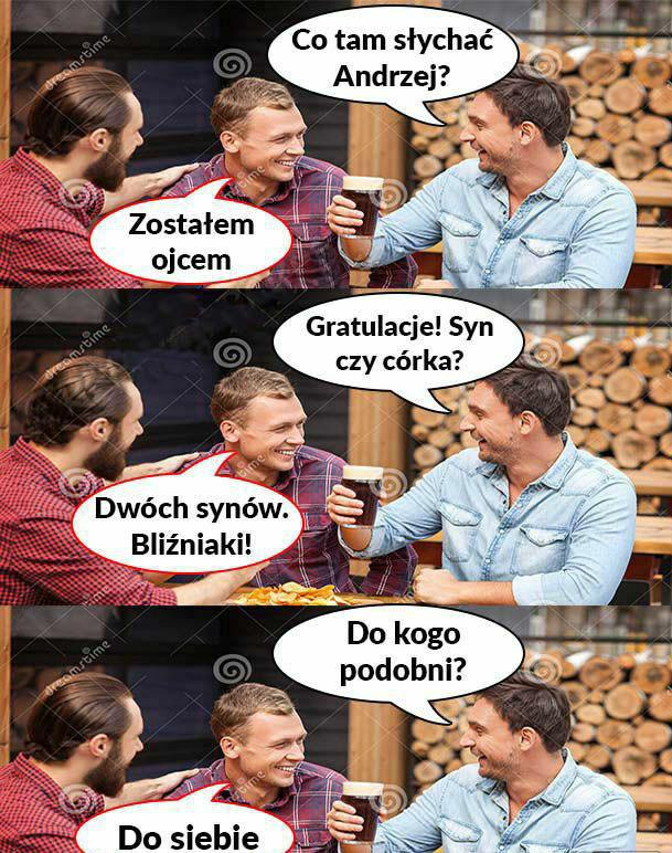 Kiedy Andrzej zostanie ojcem :D