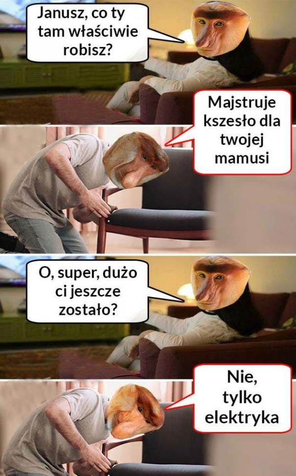 Krzesło dla mamusi :D