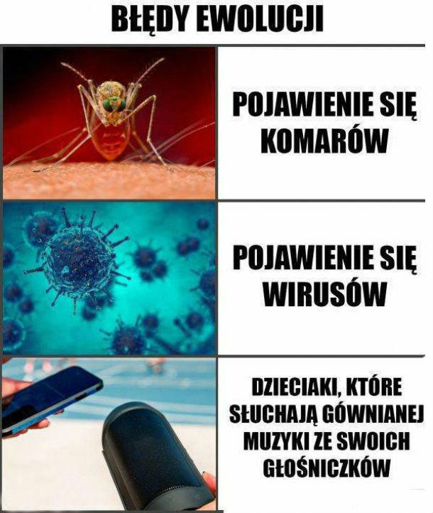 Największe błędy ewolucji