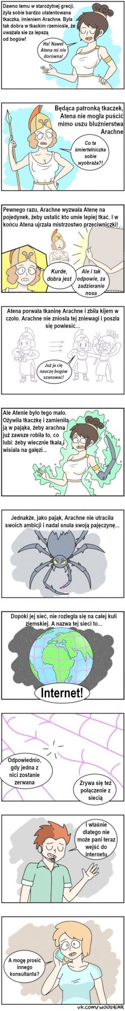 Mit o Arachne. Musisz go poznać!