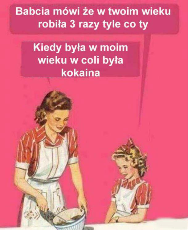 Rozmowy z babcią