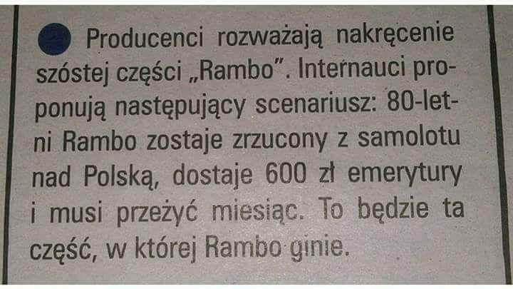 Rambo w Polsce