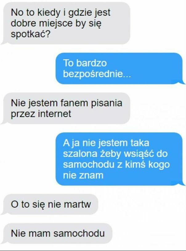 Znajomość przez internet