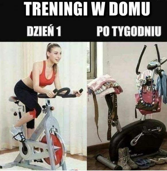 Trening w domu !