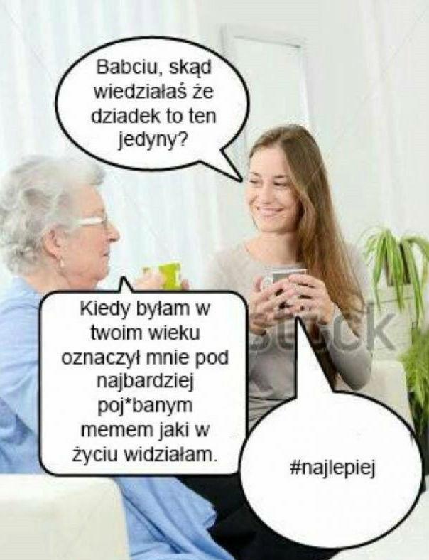 Szczera rozmowa z babcią