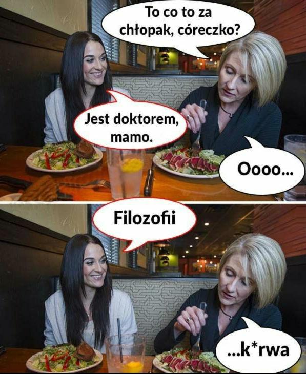 Obiad z matką