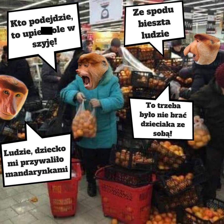 Kiedy w Biedrze rzucą mandarynki na promocję