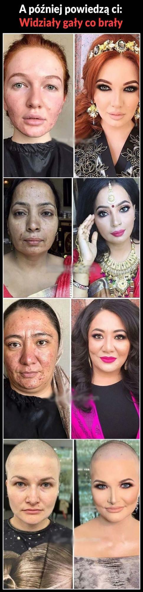 Potęga makijażu :D