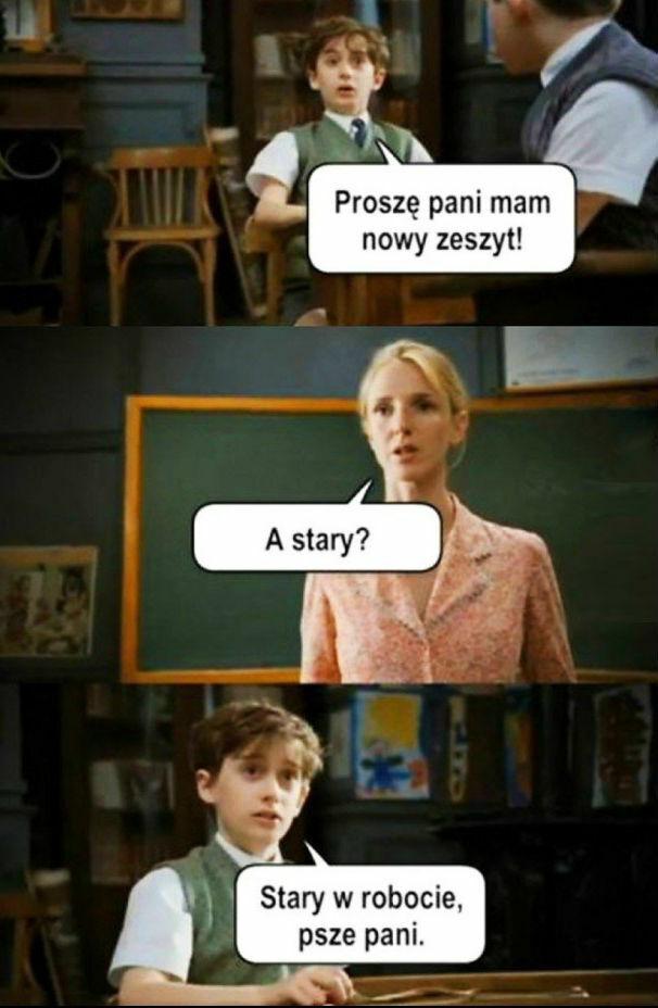 Rozmowa z nauczycielką