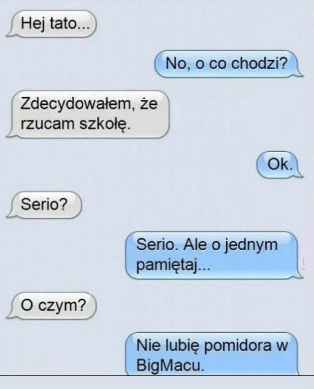 Rozmowa z tatą