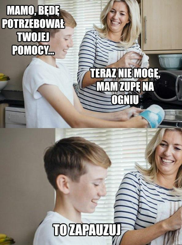 Rozmowa w kuchni