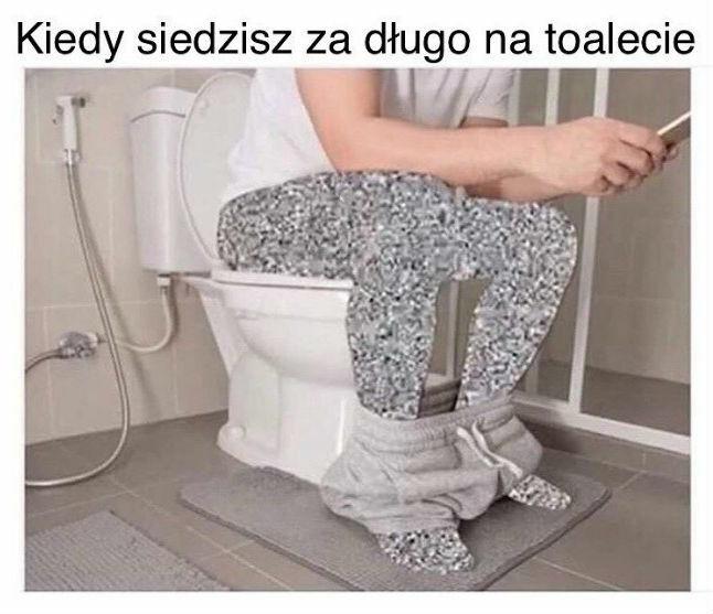 Wizyta w łazience