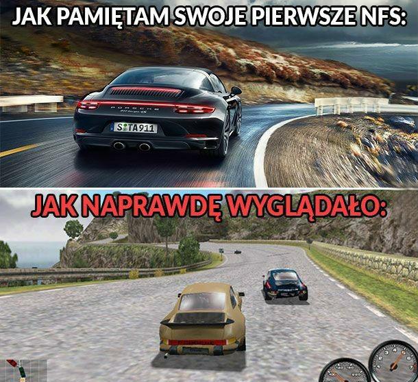 Pierwsze Need for Speed