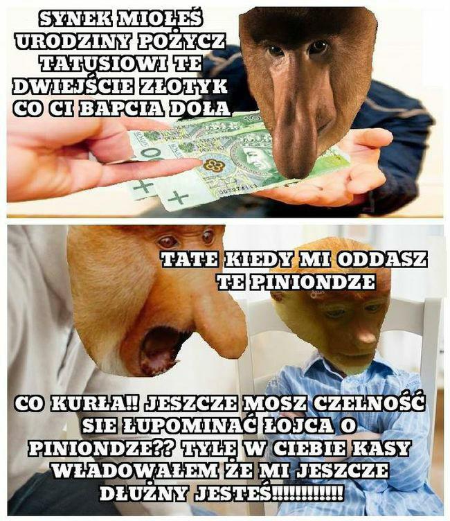 Kiedy Janusz pożyczy pieniądze :D