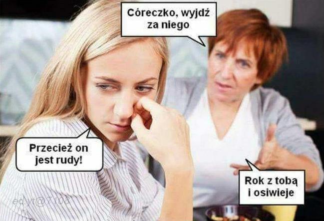Mama mistrzynią ripost :D