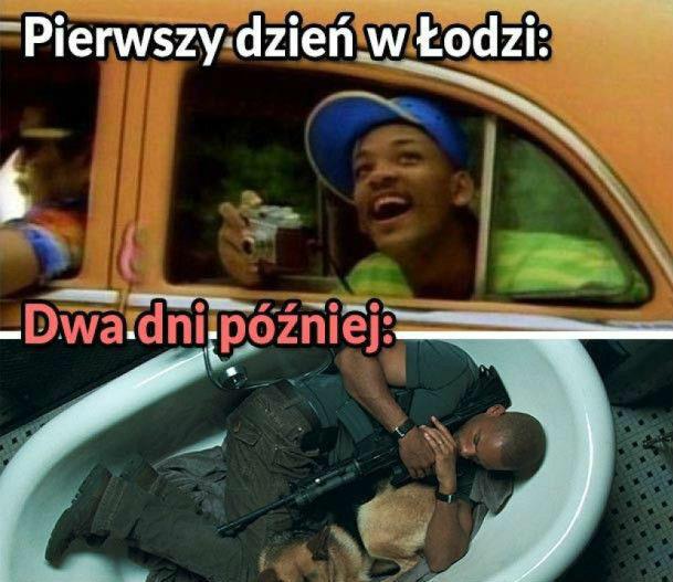 Witamy w Łodzi :D