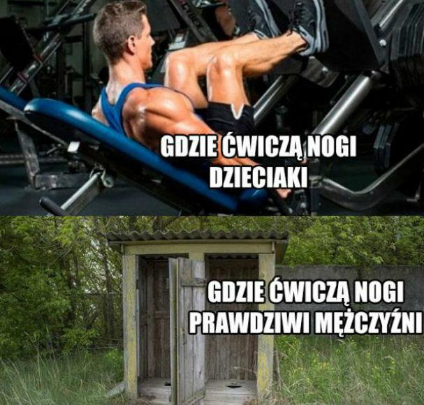 Ćwiczenia na siłowni!