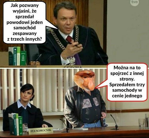 Janusz z kłopotami!