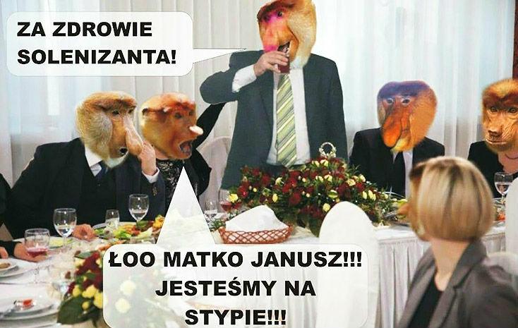 Kiedy Janusz popije